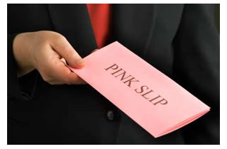 Image result for pink slip